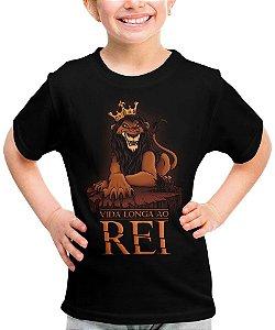 Camiseta Vida Longa ao Rei