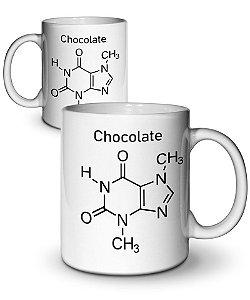 Caneca Formula Química Chocolate