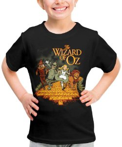 Camiseta Mágico de Oz