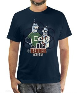 Camiseta The Big Bender Theory