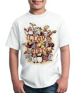 Camiseta I Love Birds