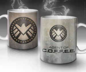 Caneca Agent of Coffee