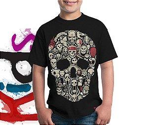 Camiseta Crânios