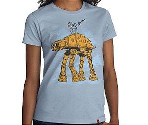 Camiseta Adventure Transport - Feminina