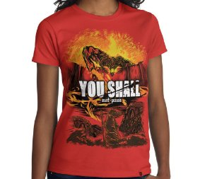 Camiseta Attack on Balrog