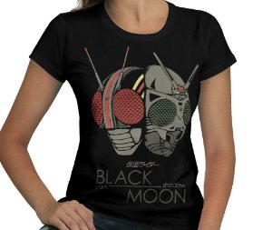 Camiseta Black X Moon - Feminina