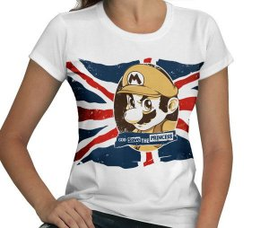 Camiseta God Save the Princess