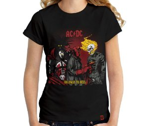 Camiseta Highway to Hell - Feminina