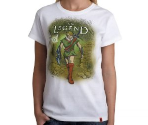 Camiseta I Am Legend - Feminina