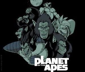 Camiseta Planet of the Apes - Feminina
