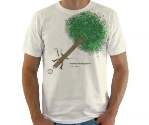 Camiseta Ação e Reação
