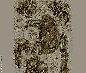 Camiseta Anatomia Jaeger - Masculina