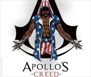 Camiseta APOLLO'S CREED - Masculina