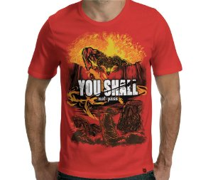 Camiseta Attack on Balrog