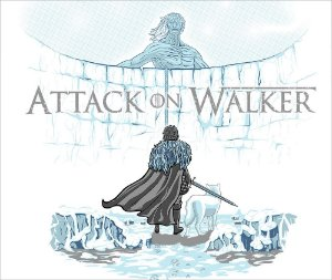Camiseta Attack on Walker - Masculina