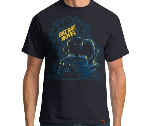 Camiseta Bat Bat Movel - Masculina