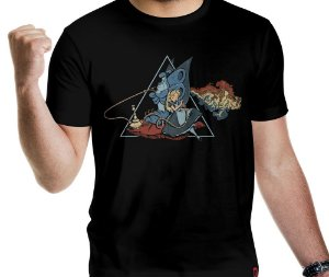 Camiseta Dark Side of Wonderland - Masculina