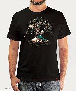 Camiseta Mario X Tartarugas