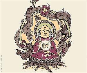 Camiseta Mestre dos Budas - Masculina
