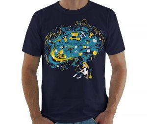 Camiseta País das Maravilhas