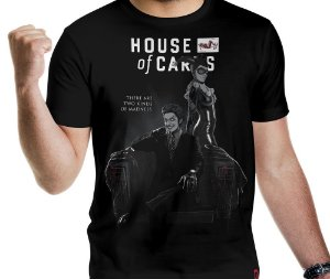Camiseta House of Cards - Masculina
