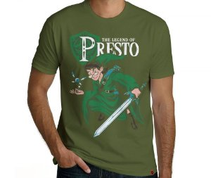 Camiseta The Legend of Presto - Masculina