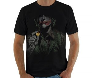 Camiseta Why So Serious - Masculina