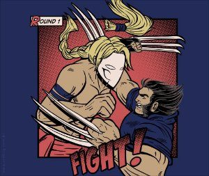 Camiseta Fight - Masculina