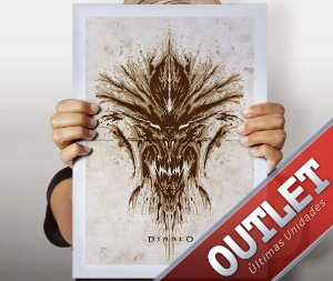 OUTLET - Poster Diablo