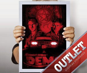 OUTLET - Poster Procurando Demo
