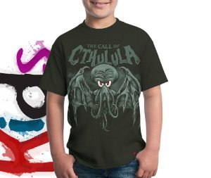 Camiseta The Call of Cthulula