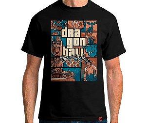 Camiseta Grand Theft Dragon