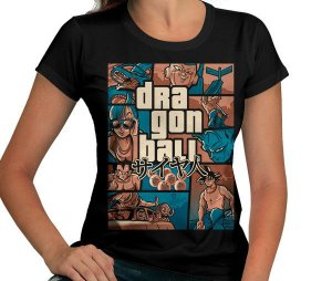 Camiseta Grand Theft Dragon