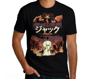 Camiseta Attack on Aku