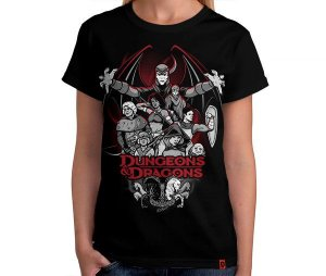 Camiseta Dungeons N Dragons