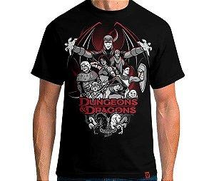 Camiseta Dungeons N Dragons