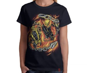 Camiseta Hell Fight - Feminina