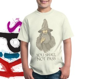 Camiseta You Shall Not Pass