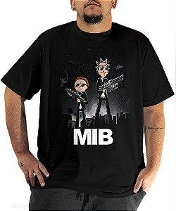 Camiseta Rick and Morty in Black