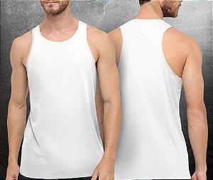 Regata básica Branca - Masculina
