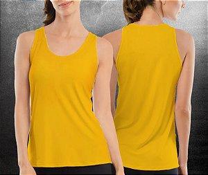Regata básica Amarela - Feminina