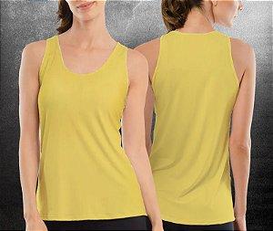 Regata básica Amarela Clara - Feminina