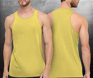 Regata básica Amarela Clara - Masculina