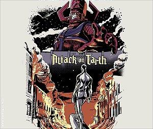 Camiseta Attack On Earth - Masculina