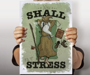 Poster Not Stress