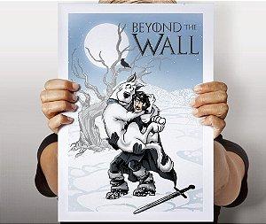 Poster Além da Muralha