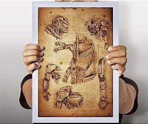 Poster Anatomia Jaeger