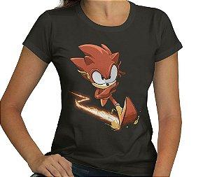 Camiseta Raio Vermelho - Feminina