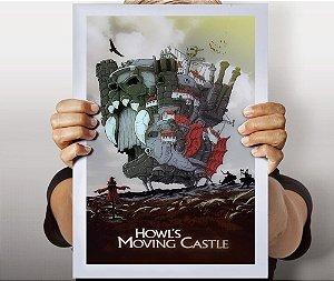 Poster Castelo Animado
