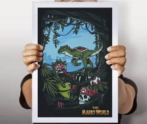 Poster Super Mario World